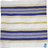 Traditional Tallit with Blue Stripes