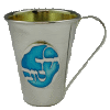 Yeled Tov Silver-Plated Cup - 'Good Boy'