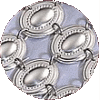 Oval Mirror Sterling Silver Atarah - MR-40