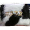 Fur Tzedakah Bag - Gelt Bag