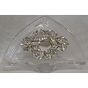 Crystal and Sterling Silver Napkin Holder - 800013