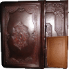 Meshubach Haggadah by Ateres - Antique Leather