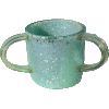 Mint-Green and Lilac Small-Sequins Ronit Acrylic Washing Cup