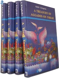 A Treasury of Aggados on Torah by Yisroel Yaakov Klapholtz