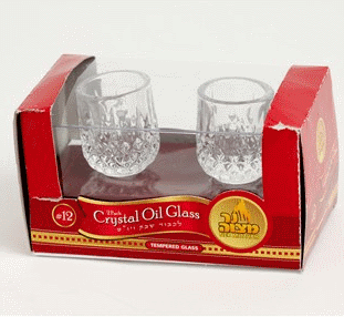 Tempered Crystal Oil Glass